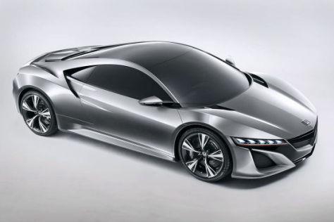 Acura/Honda NSX: Autosalon Genf 2012