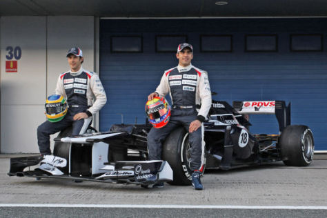 Formel 1 2012: Williams FW34