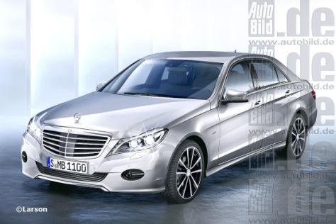Mercedes E-Klasse Facelift: Vorschau
