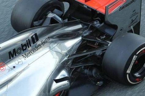 McLaren testet in Jerez bereits unterschiedliche Auspufflösungen