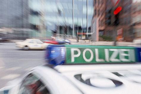 Unfallort in HH-Tonndorf