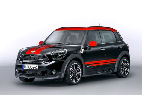Mini Countryman JCW: Autosalon Genf 2012