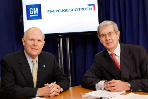GM und PSA kooperieren