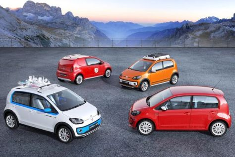 VW Up Familie Genf 2012