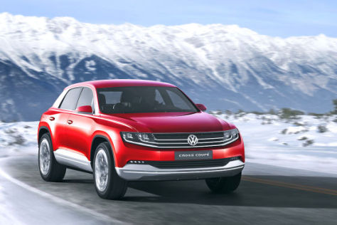 VW Cross Coupé: Autosalon Genf 2012