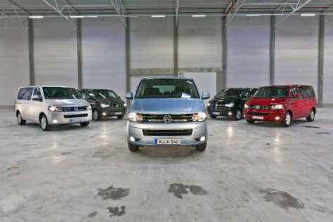 VW T5 Multivans