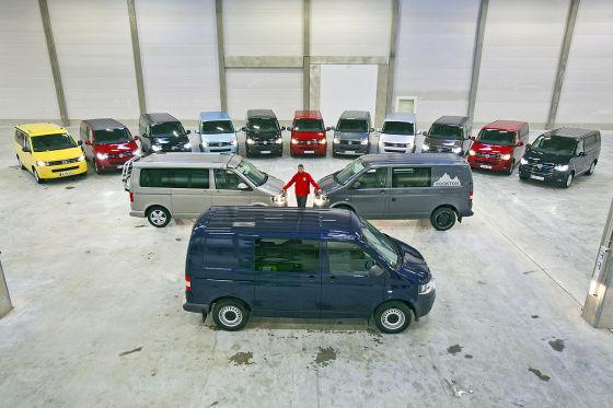 VW T5 Multivans