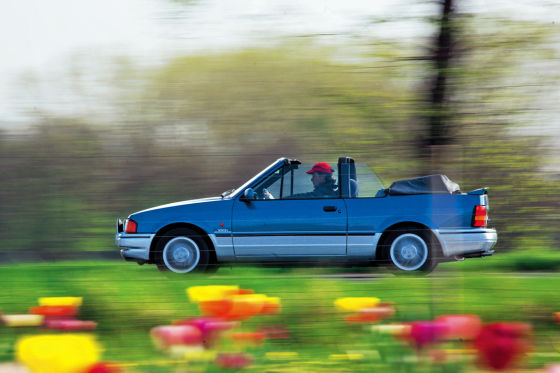 Ford Escord Cabrio XR3i Bj 1989 1,6 L 90 PS fŸr AB classic