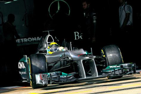Mercedes AMG W03 F1 2012