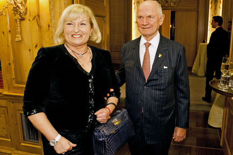 Ferdinand Piech mit Ehefrau Ursula