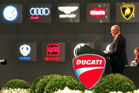 VW-Tochter Audi übernimmt Ducati