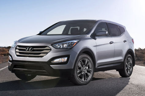 Hyundai Santa Fe (New York 2012)