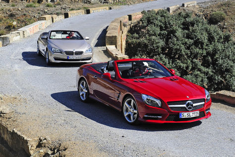 BMW 6er Mercedes SL
