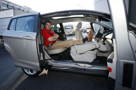 Ford B Max Sitzprobe Autobild De