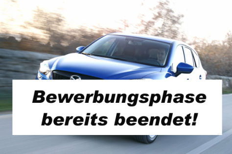 Partneraktion: Mazda CX-5 Discovery Tour