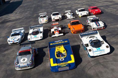 15 Fahrzeuge der Porsche-Auktion