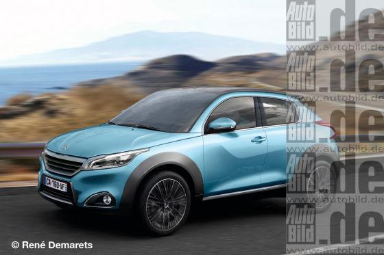 Peugeot 208 Hybrid Suv Statt Kombi Autobild De