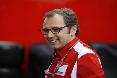 Ferrari-Teamchef Stefano Domenicali kommt heute Abend in Maranello an