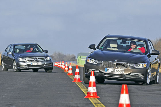 Video: Mercedes C 350 vs. BMW 335i