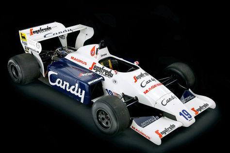Toleman TG184-2 von Ayrton Senna (1984)