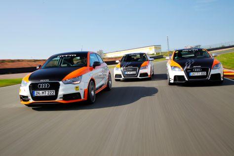 Drei getunte Audi Fünfzilinder im Vergleich