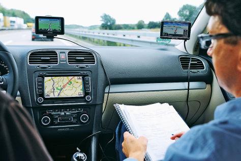 Navigation im Test