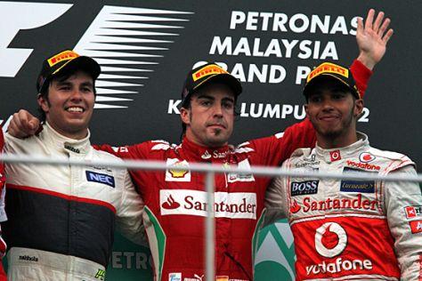 Formel 1 2012: GP Malaysia