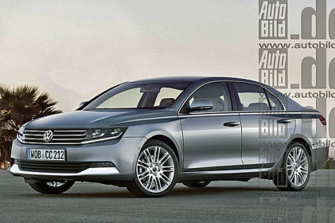 VW Passat Illustration