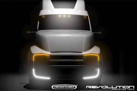 Freightliner Revolution Truck-Studie