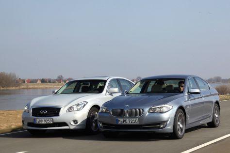 BMW 5er Infiniti M