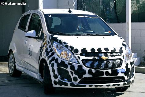 Erlkönig Chevrolet Spark EV