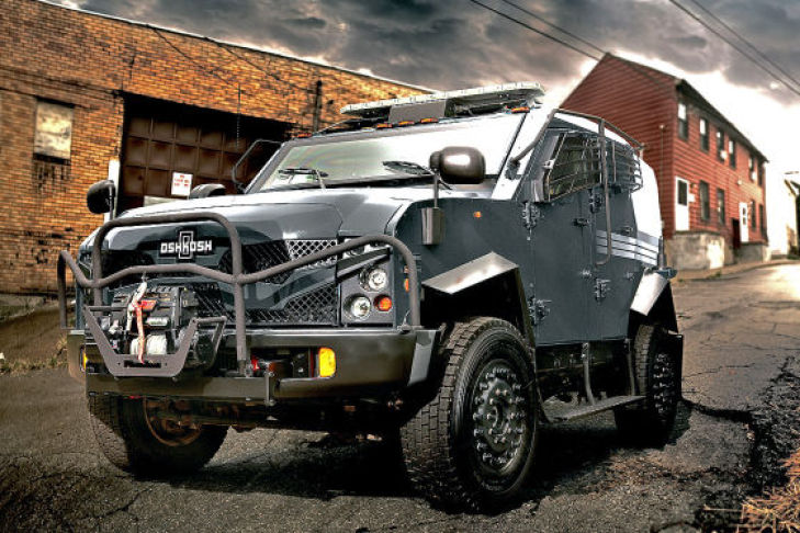 Tactical Protector Vehicle von OSHKOSH