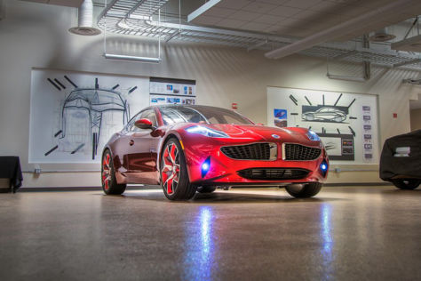 Fisker Atlantic: New York Auto Show 2012