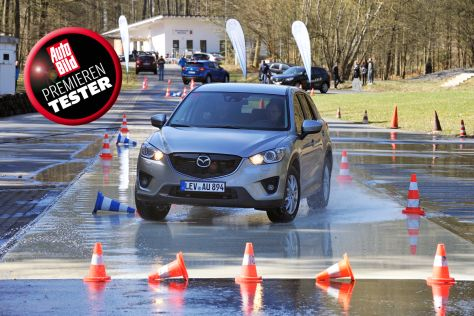 Partneraktion: Mazda CX-5 Premierentester