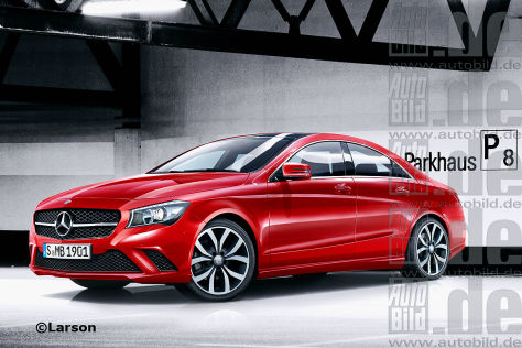 Mercedes CLA Illustration