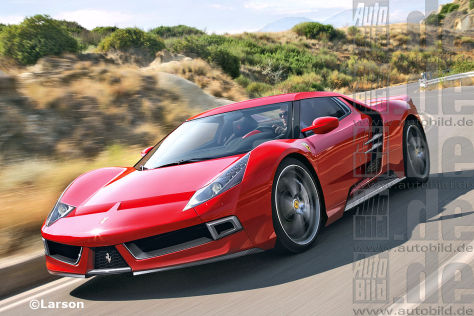 Ferrari Enzo II (Illustration)