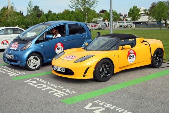 Opel Ampera. Nissan Leaf