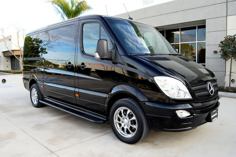 Mercedes Sprinter Becker Automotive Design