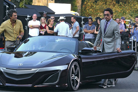 Robert Downey Jr. Honda NSX Roadster