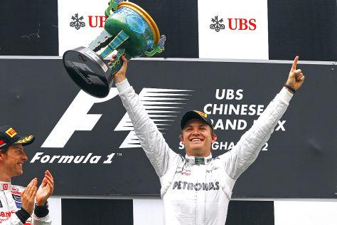 Formel 1 2012: GP von China