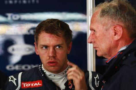 Motorsportkonsulent Helmut Marko kennt Sebastian Vettels Probleme