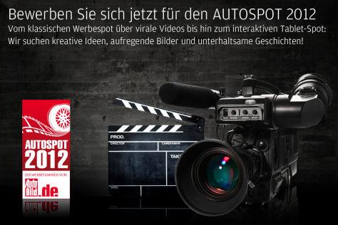 Autospot 2011 – Bewerben Sie sich jetzt!