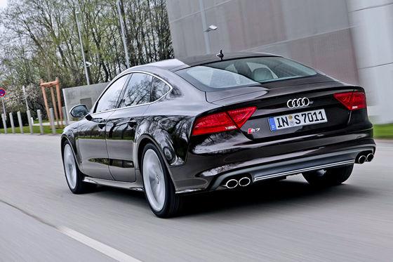 Video: Audi S7