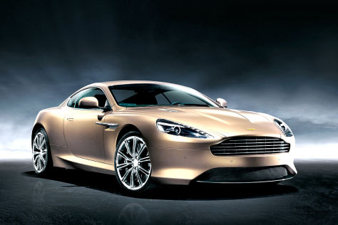 Aston Martin Dragon 88: Peking 2012