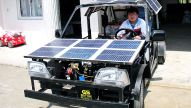 Solarmobil aus China