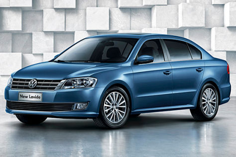 VW New Lavida: Peking 2012