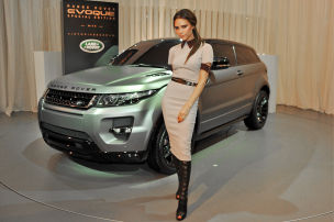 Evoque Beckham-Edition: Peking 2012