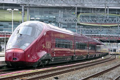 Bahnfahren in Italien