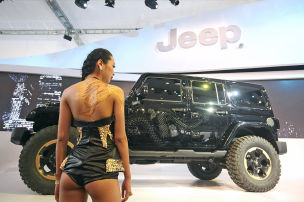 Jeep Wrangler Dragon: Peking 2012