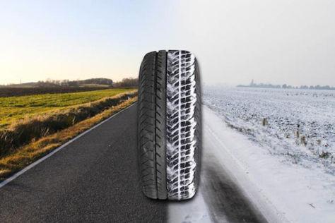 Adaptiver Reifen von Forschern der Uni Leipzig